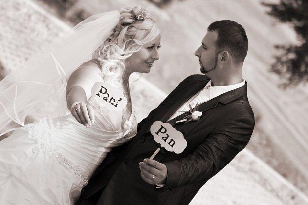 Soutěžní svatební pár číslo 206 - Lucie a Josef Doležalovi, Dětmarovice.