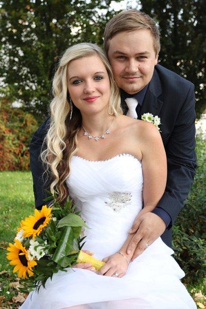 Soutěžní svatební pár číslo 54 - Monika a Jan Šenkovi, Šumperk