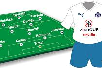 Fotbalisté Slovácka pravděpodobně nastoupí do nedělního utkání v této sestavě.