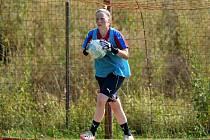 Osmnáctiletá brankářka Nikola Fojtíková.