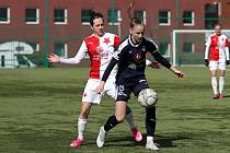 Fotbalistky Slovácka prohráli v Edenu se Slavií Praha 0:2. Foto: Fotbal ženy