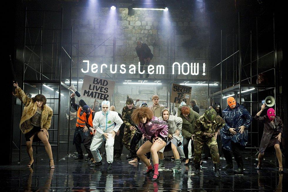 Jesus Christ Superstar ve Slováckém divadle.