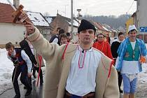 Uherskohradišťskem v sobotu prošli fašankáři