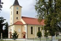 Kostel v Šumicích.