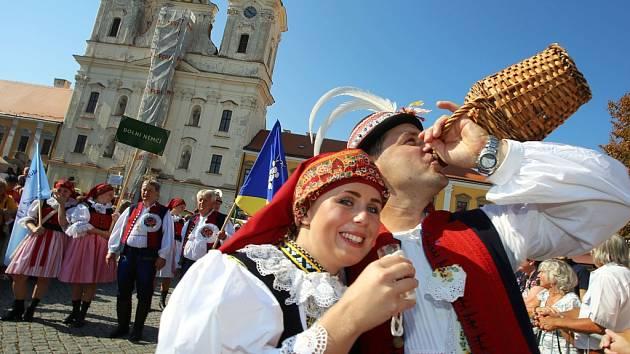 Slovácké slavnosti vína, 2016. Ilustrační foto