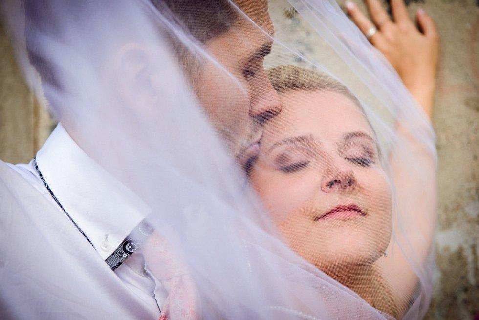 Soutěžní svatební pár číslo 214 - Honza a Kamča Janišovi, Lužná u Vsetína.