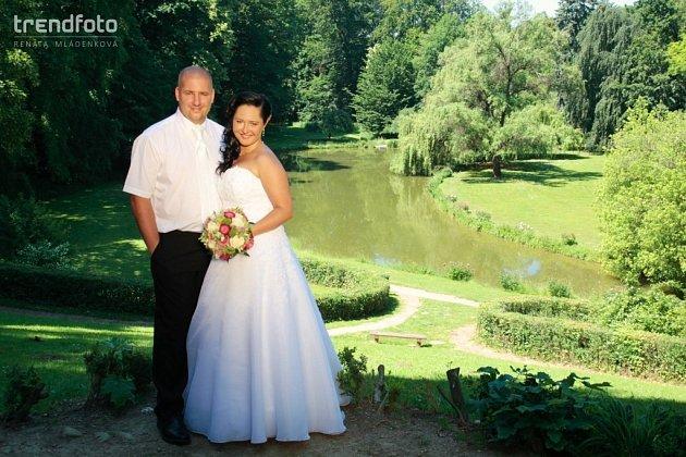 Soutěžní svatební pár číslo 72 - Kateřina a Martin Randusovi, Leskovec uVsetína