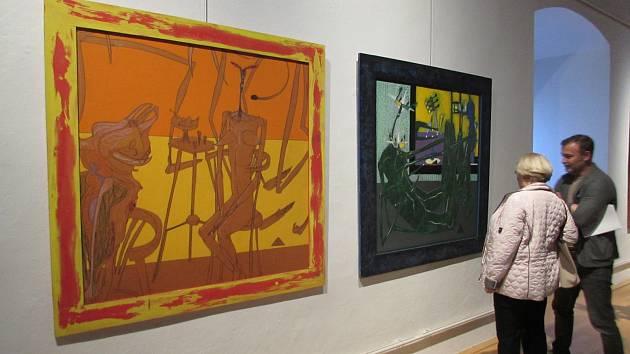Ivan Theimer, Boris Jirků, Vladimír Kokolia, to jsou jména tří ze 77 vybraných tvůrčích osobností, absolventů Střední uměleckoprůmyslové školy (SUPŠ) v Uherském Hradišti, jejichž díla doslova zaplavila Galerii Slováckého muzea v Uherském Hradišti. Výstavu
