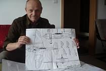 """Václava Kolaju praktiky minulého režimu znechutily natolik, že emigroval do Kanady. Režim mu """"neodpustil"""" jeho úspěšnou kariéru hudebníka. Dnes se věnuje hlavně výrobě dřevěných modelů letadel."""
