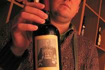 Víno z Milotic.