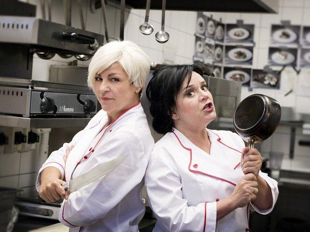 Jaroslava Tihelková, Monika Horká, Čarodějnice v kuchyni