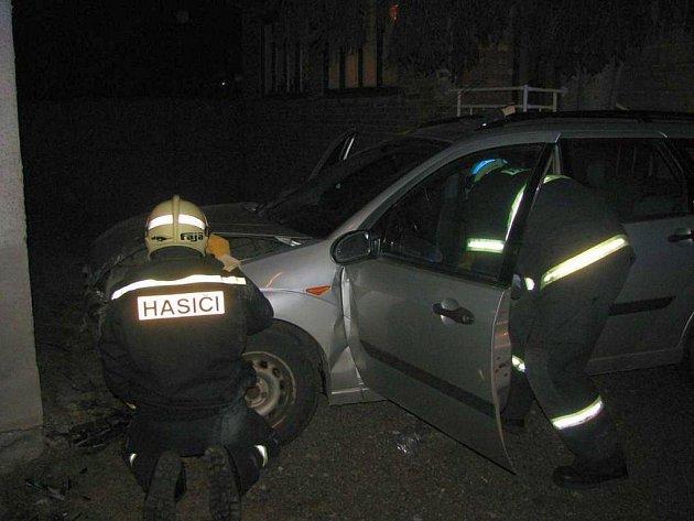 Dopravní nehoda v Nedakonicích