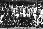 Pražské Dynamo (Slavia) se ve Vlčnově představilo v roce 1955.