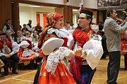 Tuzemským folklorním fenoménem je ve Vlčnově krojový ples s představením krále a jeho družiny.