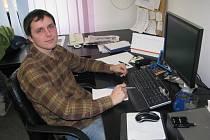 Redaktor Slováckého deníku Michael Lapčík.