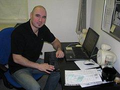 Editor a sportovní redaktor Slováckého deníku Michal Sladký.