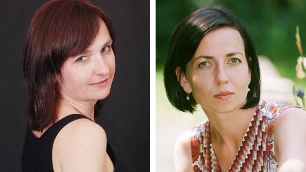 Zleva: Anna Pospíchalová a Tereza Novotná Mikšíková