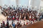 V Suché Lozi oslavili 20. výročí posvěcení kostela sv. Ludmily