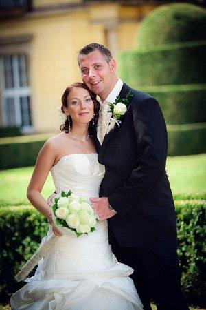 Svatební  pár č. 103Stanislava a Petr Schneiderovi, Medlovice