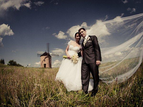 Soutěžní svatební pár číslo 38 - Iva a Petr Mikulčíkovi, Staré Město