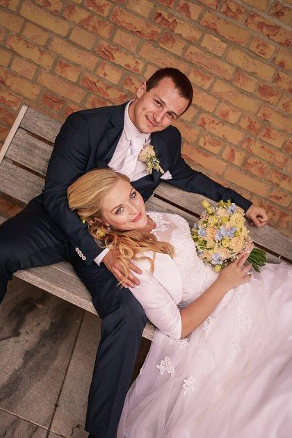 Soutěžní svatební pár číslo 79 - Denisa a Roman Herůdkovi, Břestek