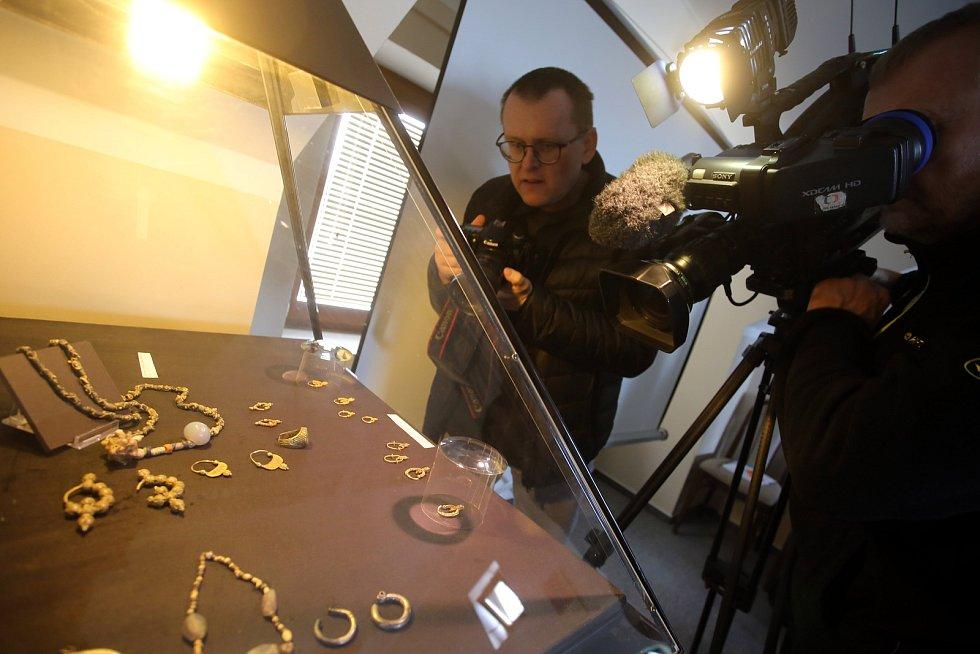 Tisková konference Centra slovanské archeologie  Moravského zemského muzea v Uherském Hradišti.