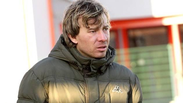 Petr Vlachovský pracuje s nejmladším kádrem v soutěži, věkový průměr týmu Slovácka je dvacet let.