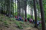 DEN S LESÁKY. Osmého ročníku Dne s Lesy ČR se zúčastnilo 168 žáků z šesti základních škol v okruhu působnosti Lesní správy Buchlovice.