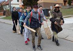 Tradiční zvyk vodění jidáše na Bílou sobotu má dlouholetou tradici.