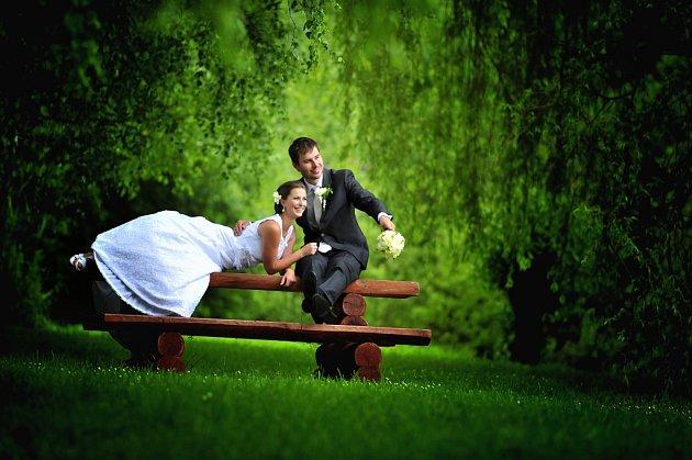 Soutěžní svatební pár číslo 121 - Lucie a Stanislav Michalovi, Přerov.