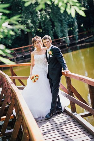 Soutěžní svatební pár číslo 24 – Veronika a Jiří Faksovi, Cholina