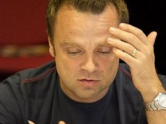 Tomáš Šulaj na zkoušce.