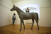 Výstava Textile art of todey ve Slovácké galerii. Na snímku autor Renata Ormandíková Slovensko