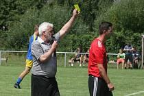 Závěr zápasu v Babicích poznamenaly dvě vyloučení. Archivní foto.