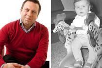 Stanislav Blaha (vpravo jako asi roční dítě).