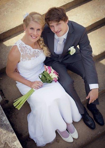 Soutěžní svatební pár číslo 126 - Eduard a Sylvie Kloboučkovi, Přerov.