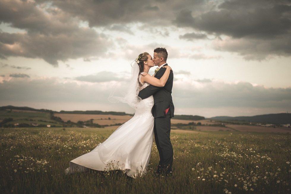 Soutěžní svatební pár číslo 43 - Marie a Roman Svobodovi, Otrokovice