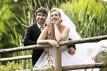 Soutěžní svatební pár číslo 57  –  Barbora a Martin Indrovi, Uherský Brod