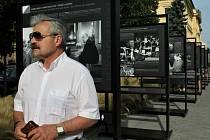 Výstavu nežádoucí okamžiky si prohlédl i hradišťský místostarosta Ivo Frolec.