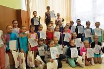 Krasobruslaři BK Uherský Brod po závodech v Kopřivnici:V kategorii nejmladší žačky obsadily 3. místo Barbora Tykalová, 8. místo Andrea Pšurná a 10. místo Nelly Jankovičová.