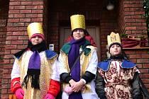 V sobotu se v Hluku uskutečnila Tříkrálová sbírka, stejně jako na jiných místech regionu.