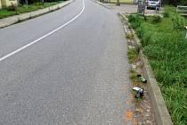 Řidič s vozidlem BMW v Březolupech narazil do cyklistky a poté ujel.