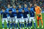 Utkání skupiny B mistrovství Evropy hráčů do 21 let Itálie – Portugalsko.