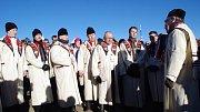 Setkání na Velké Javořině 31. prosince 2016.
