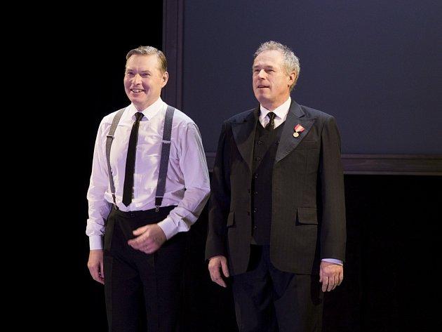 Premiéra inscenace Králova řeč ve Slováckém divadle.
