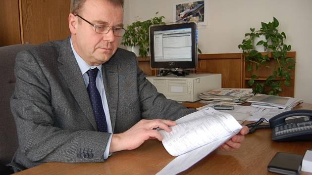 Ředitel Úřadu práce v Uh. Hradišti Richard Janíček.