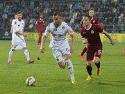 1. FC Slovácko - Sparta Praha. Ilustrační foto.