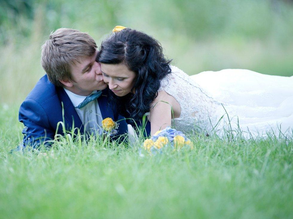 Soutěžní svatební pár číslo 7 - Lucie a Jiří Navrátilovi, Hlubočky