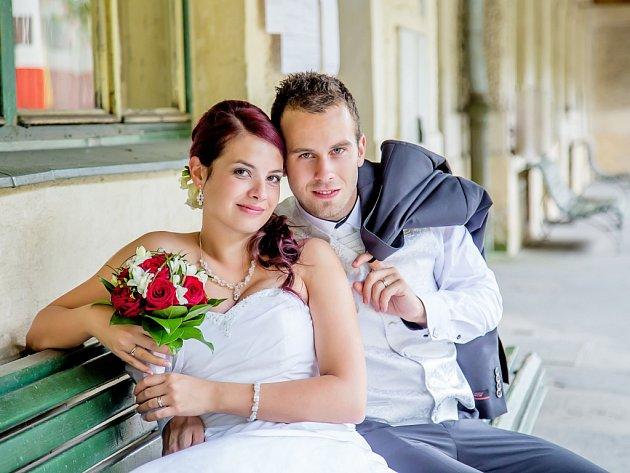 Soutěžní svatební pár číslo 9 - Iveta a Bedřich Žižkovi, Přáslavice