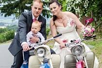 Soutěžní svatební pár číslo 12 – Žaneta a Jan Cikrytovi, Šumperk